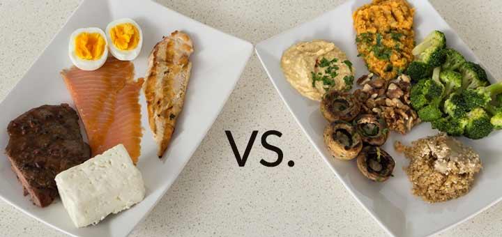 proteine animali vs vegetali