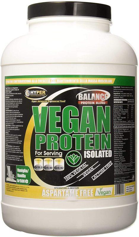 proteine in polvere vegane