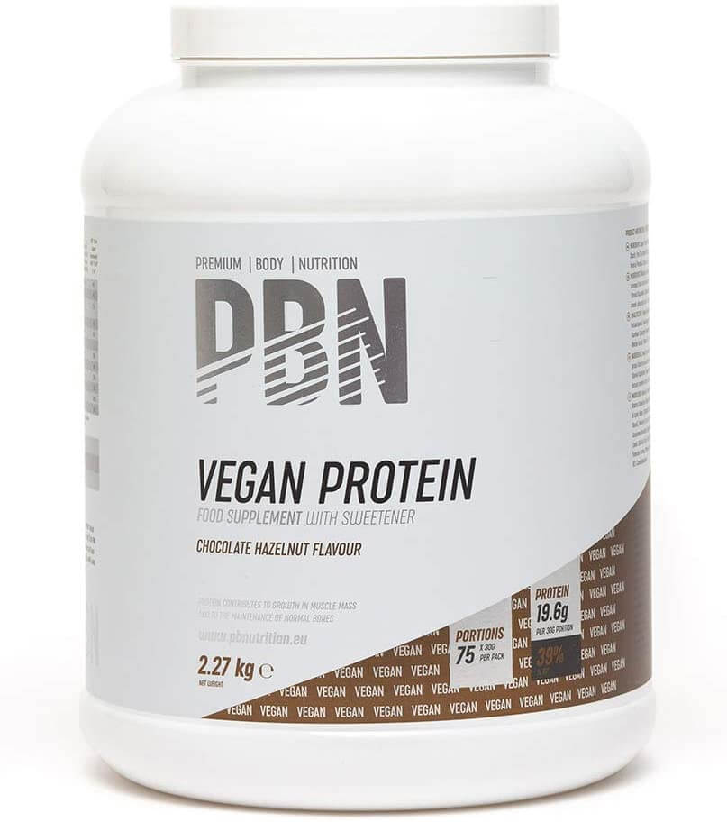 proteine vegan in polvere