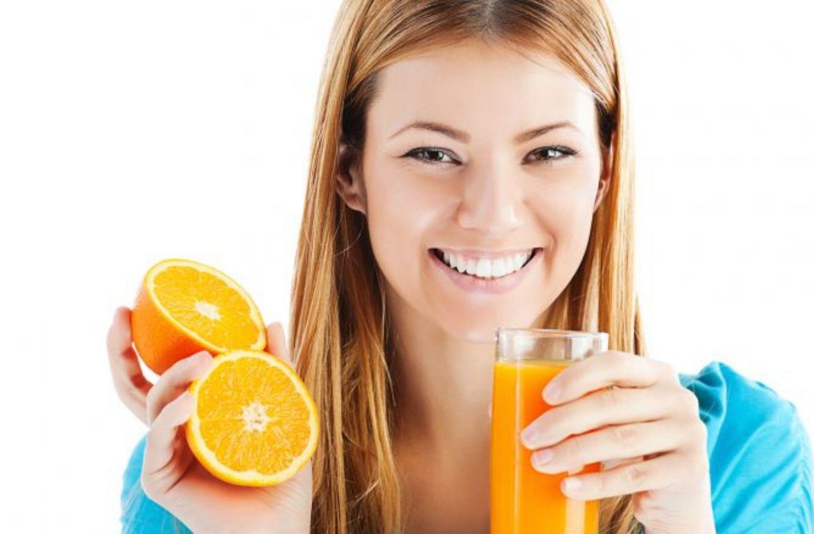Succo arancia ricco di calcio