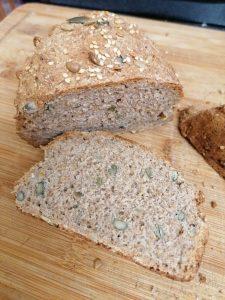 Pane ai semi senza olio
